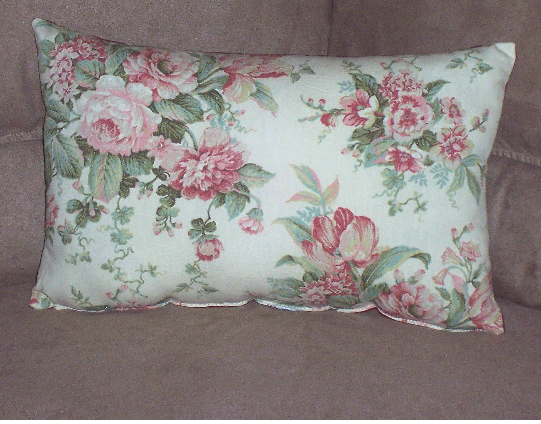 Throw Pillows For A Floral Couch : Floral Blossom Rectangle Throw Pillow Fashion Home Products